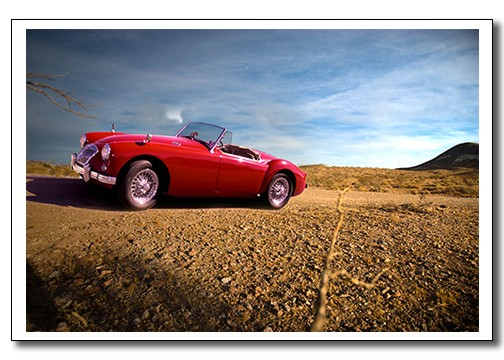 """Cedric"" Our 1959 MGA Roadster"