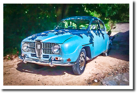 """Sven"" 1967 Saab model 96"